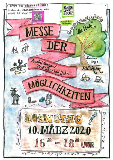 Plakat Messe der Möglichkeiten