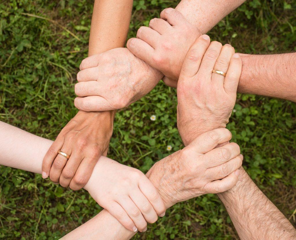 Zusammenhalt durch Menschen